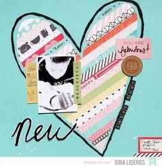 American Crafts DT August Gallery layouts (via Bloglovin.com )