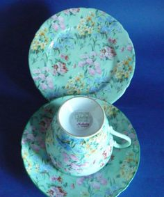 Image detail for -shelley bone china melody chintz trio c1945 2 a fine bone china melody ...