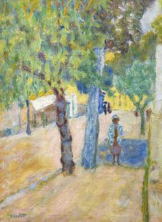 Pierre Bonnard - Personage sous un Arbre
