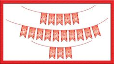 80%OFF Lace Heart Valentines Printable Banner by JustAnArtStore