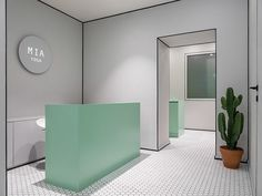Mia Yoga, Moscow, by Harry Nuriev of Crosby Studios - The Cool Hunter Commercial Design, Commercial Interiors, Shop Interiors, Office Interiors, Modern Interior Design, Interior Architecture, Office Inspiration, Cabinet Medical, Design Exterior