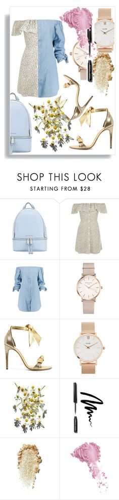 """""""Untitled #6611"""" by mariaisabel701 ❤ liked on Polyvore featuring MICHAEL Michael Kors, Topshop, Boohoo, ROSEFIELD, Alexandre Birman, CLUSE, Bobbi Brown Cosmetics and Bésame"""