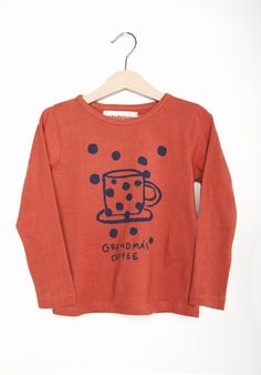 CAMISETA  GRANDMA´S COFFEE