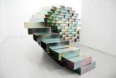 magnetic steel block installation - OBU by elisabeth lemercier