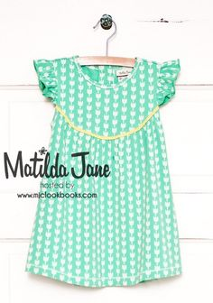 Matilda Jane Hello Lovely! Tulip Festival Dress 18mo, to wear with Adorable Essentials yellow shorties