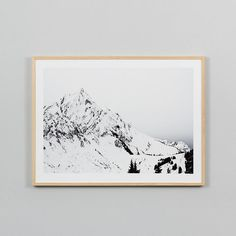 Alps Print 114cm x 89cm from The Shelley Panton Store