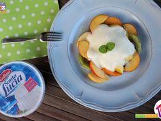 Macedonia di frutta e ricotta  #ricette #food #recipes