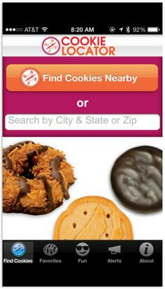 Never miss a Girl Scout Cookie sale in your area again