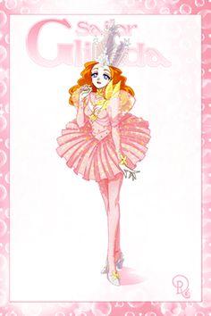 Sailor Glinda, the Good Witch of the North, by Drachea Rannak Sailor Moon Girls, Sailor Moon Fan Art, Sailor Moon Character, Sailor Moon Manga, Arte Disney, Disney Fun, Moe Anime, Anime Art, Disney Movie Collection