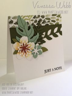 Botanical Blooms Bundle - Vanessa Webb Stampin' Up! Demonstrator Australia - oredr Stampin' Up! online in my store 24/7