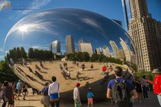 Cloud Gate, Chicago, USA #thingstodoinChicago #CloudGate #traveltipsUSA