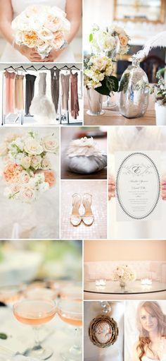 blush/peach/gray colors