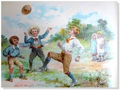 E. Stuart Hardy (Lot of 5) Laugh & Play Antique  Chromolithographs Nister 1870's #Vintage141yearsold