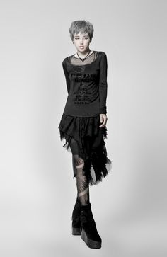 01ccd4a8ff4d 23 Best Women's NinjApparel images | Goth girls, Punk rave, Gothic ...