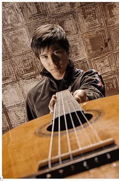 Image result for guy guitar senior photo