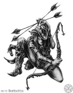 Barbatos - Demon and Spirit of Solomon