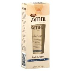 Ambi Skin Care Fade Cream For Normal Skin-2 oz (Quantity of 6) by Ambi Skin Care. $32.25. Begin to see results in as little as two weeks. Perfect for use on face or body. Available in two formulas. Visibly reduce the appearance of dark marks and skin discolorations. Results improve with continued use. Ambi Fade Creams are developed to visibly reduce the appearance of dark marks and skin discolorations for an even, natural skin tone. When used as directed, you will begin to ...