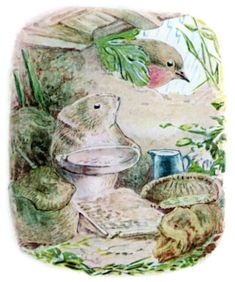 The Tale of Johnny Town-Mouse - Timmy Willie longed to be at home in his peaceful nest in a sunny bank.