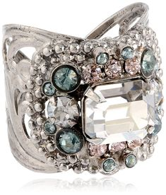Sorrelli  'Crystal Rock' Studded Crystal Band Ring ** Check out this great product. (This is an affiliate link) #ILoveJewelry