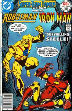 Super-Team Family: The Lost Issues! Marvel Comics Superheroes, Marvel Dc Comics, Marvel Characters, Comic Book Covers, Comic Book Heroes, Comic Books, Marvel And Dc Crossover, Nightwing And Starfire, Man Parts