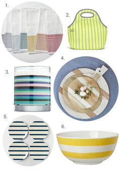 Beyond Nautical: How to Add Stripes in Your Kitchen — Making Us Happy