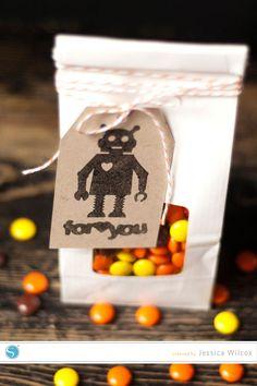 (image) Robot Stamp Tag