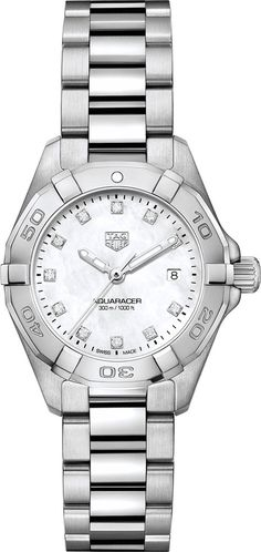 TAG Heuer Watch Aquaracer #add-content #basel-18 #bezel-unidirectional #bracelet-strap-steel #brand-tag-heuer #case-material-steel #case-width-27mm #date-yes #delivery-timescale-call-us #dial-colour-white #gender-ladies #luxury #movement-quartz-battery #new-product-yes #official-stockist-for-tag-heuer-watches #packaging-tag-heuer-watch-packaging #sihh-geneve-2018 #style-divers #subcat-aquaracer #supplier-model-no-wbd1414-ba0741 #warranty-tag-heuer-official-2-year-guarantee…