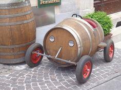 Weinfass der besonderen Art ...