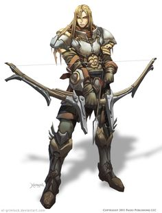 ARCHER : Half Elf. by *el-grimlock on deviantART