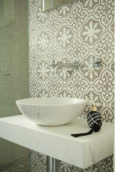 moroccan grey tiles - gorgeous!