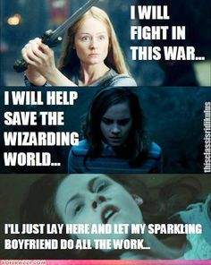 haha I do like the twilight series but I can't help but agree with this..
