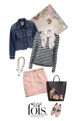 """""""1663"""" by m-lane ❤ liked on Polyvore featuring Paige Denim, H&M, MANGO, Frame, Boden, Rosantica, Caslon and Dorothy Perkins"""