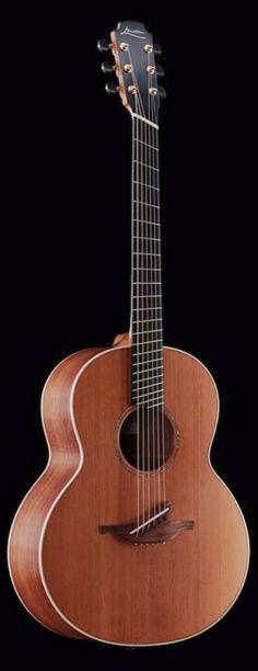 Lowden -- fan fret acoustic guitar