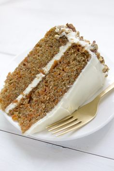 The Very Best Carrot Cake