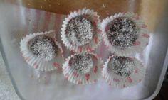 كرات البسكويت بالشوكولاته