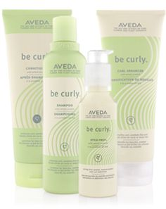 Aveda Be Curly - love Aveda as a brand! When I wear my hair curly, this is a great shampoo and conditioner! Aveda salons and are schools are great to get hair cuts too :) Aveda Be Curly, Aveda Hair, Long Curly Hair, Curly Girl, Wavy Hair, Trendy Hairstyles, Curled Hairstyles, Frizz Control, Conditioner