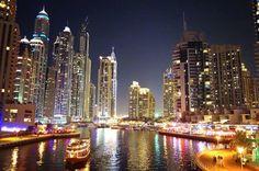 Favorite Travel Photos (Part 2): Dubai Marina at night, United Arab Emirates (UAE)