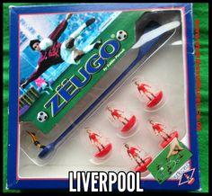 #subbuteo Zeugo football team Liverpool