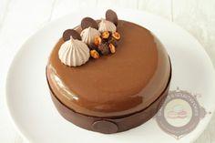 Entremets chocolat, poire et cacahuète - Surprises et gourmandises