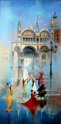 ''Magic Venice''  Georges Corominas
