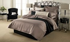 Millennia Bed Linen by Sheridan from Harvey Norman New Zealand Master Bedroom Design, Dream Bedroom, Decor Interior Design, Interior Decorating, Headboard Designs, Quilt Cover, New Room, Innovation Design, Bed Sheets