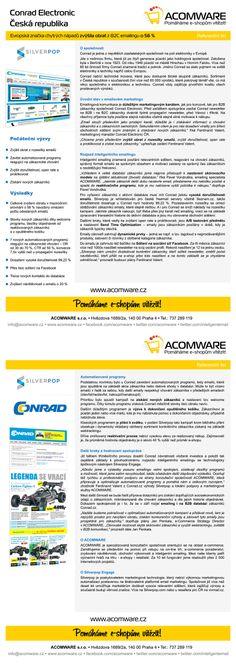 Evropská značka Conrad Electronic zvýšila obrat z emailingu o 56 %. Podívejte se na naši případovou studii.