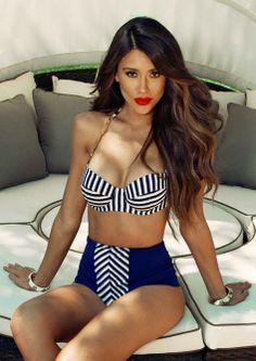 Pin Up Bikini... Love it! Want this and the bikini body haha