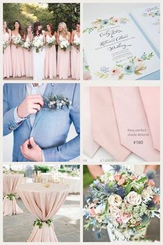 Dusty Blue, Blush, and Green Wedding Colors Rustic Elegant Spring Wedding Ideas . Dusty Blue, Blush, and Green Wedding Colors Rustic Elegant Spring Wedding Ideas . Blue And Blush Wedding, Pink Wedding Colors, Dusty Blue Weddings, March Wedding Colors, Pink Green Wedding, Wedding Motif Color, Wedding Ideas Blue, Trendy Wedding, Wedding Color Themes