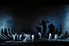 Elektra from the Opéra national de Paris. Production by Robert Carsen. Sets by Michael Levine.