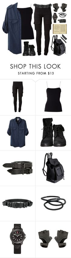 """daily outfit: The Maze Runner:Go camping"" by your-fair-lady on Polyvore featuring DRKSHDW, T By Alexander Wang, Étoile Isabel Marant, Zara, AllSaints, Pieces, Goody and Victorinox Swiss Army"