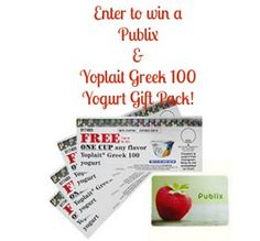 My Little Space 4 Everything: Yoplait Greek 100 & $25 Publix Gift Card Giveaway!