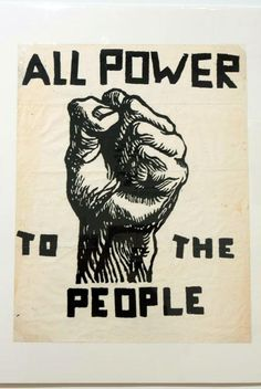 Black Panther Party Posters   Emory Douglas poster Courtesy of the Center for the Study of Political ...