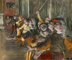The New York Times reports that an important work from 1876 by the Impressionist painter Edgar Degas, has been stolen from a museum in Marseille: According to the police, ? Edgar Degas, Degas Dancers, Ballet Dancers, Degas Paintings, Artwork Paintings, Pastel Artwork, Art Ancien, Manet, Renoir