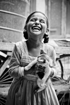 "Photo ""Pure Laughter"" by Amith Nag...""Laughter is at its purest when seen in children."""